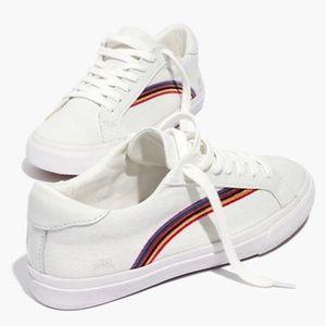 Women's Sidewalk Low-Top Sneaker in Rainbow Canvas
